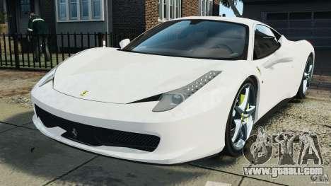 Ferrari 458 Italia 2010 v2.0 for GTA 4
