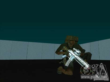 New Weapons Pack for GTA San Andreas third screenshot