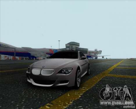 BMW 6 Series M for GTA San Andreas left view
