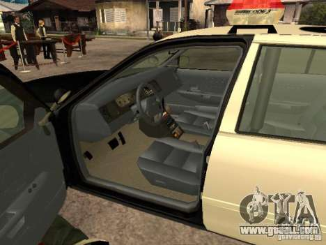 Ford Crown Victoria 2003 Police for GTA San Andreas back left view