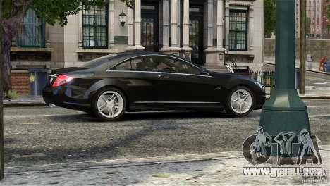 Mercedes-Benz CL65 AMG v1.5 for GTA 4 side view
