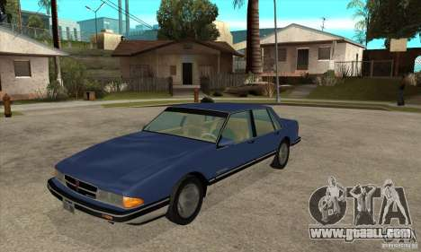 Pontiac Bonneville 1989 for GTA San Andreas