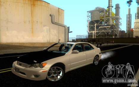 Lexus IS300 Drift for GTA San Andreas