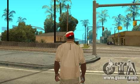 New Era Cap for GTA San Andreas second screenshot