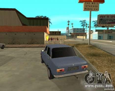 Kopeyka (corrected) for GTA San Andreas back left view