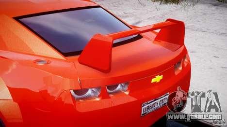 Chevrolet Camaro 2009 for GTA 4