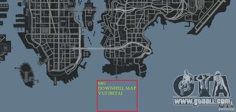 MG Downhill Map V1.0 [Beta] for GTA 4 eighth screenshot