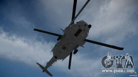 HH-60G Pavehawk for GTA 4 side view