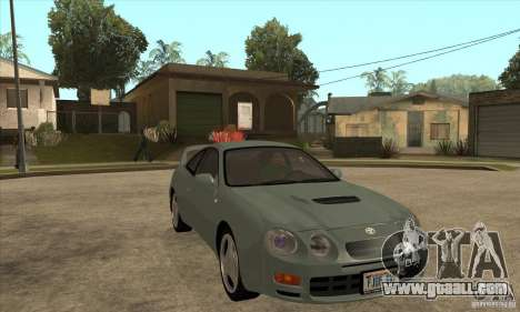 Toyota Celica GT-Four for GTA San Andreas back view