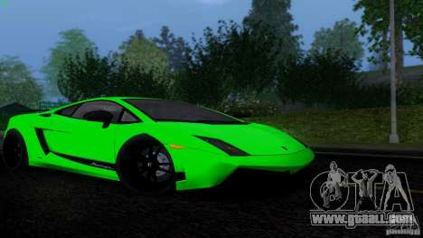Lamborghini Gallardo LP570-4 Superleggera for GTA San Andreas