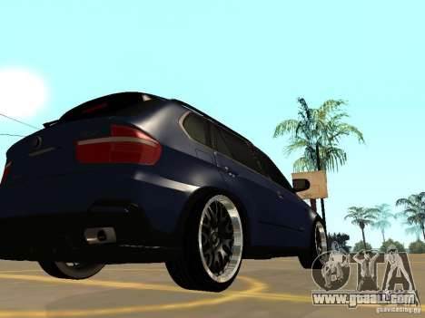 BMW X5 for GTA San Andreas left view