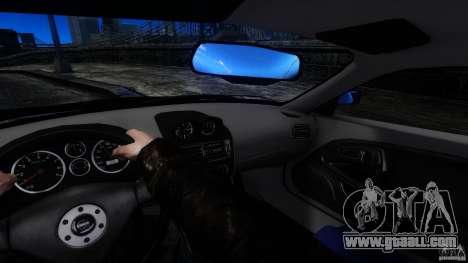Mitsubishi FTO for GTA 4 back view