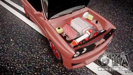 BMW E30 v8 for GTA 4 upper view