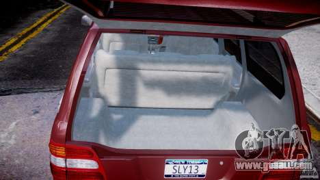 Toyota Land Cruiser 100 Stock for GTA 4 upper view