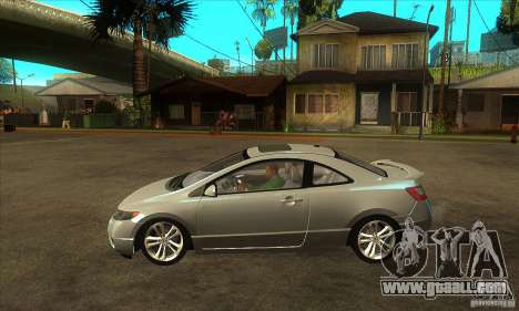 Honda Civic Si - Stock for GTA San Andreas left view