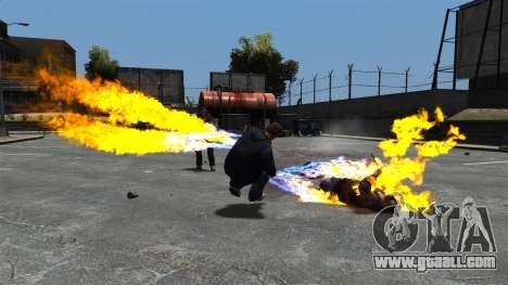 Fire bullets for GTA 4 second screenshot