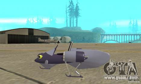 Flying Fish for GTA San Andreas left view