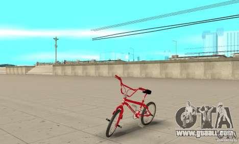 Noxon Jump Bmx for GTA San Andreas