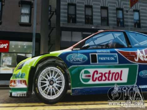 Ford Focus RS WRC for GTA 4 side view
