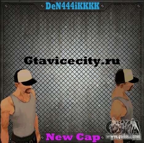 Cap for GTA San Andreas