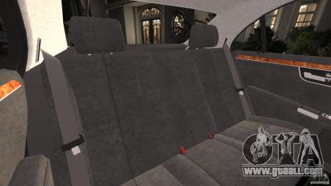 Mercedes-Benz S W221 Wald Black Bison Edition for GTA 4 side view