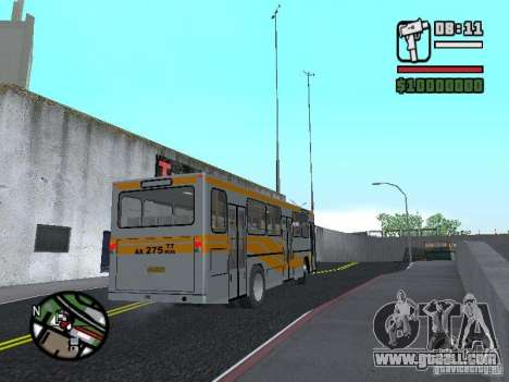 Mercedes-Benz O325 for GTA San Andreas right view