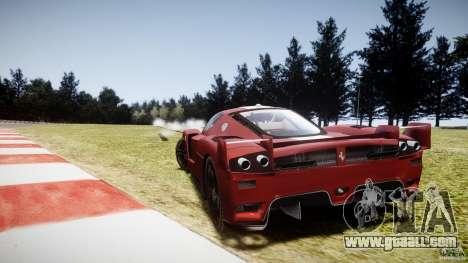 Ferrari FXX for GTA 4 back left view