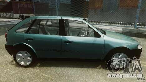 Volkswagen Gol G4 Rallye for GTA 4 left view