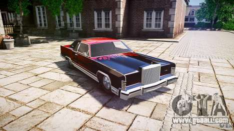 Lincoln Continental Town Coupe v1.0 1979 [EPM] for GTA 4 inner view