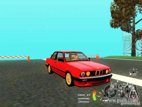 BMW E30 87-91 for GTA San Andreas left view
