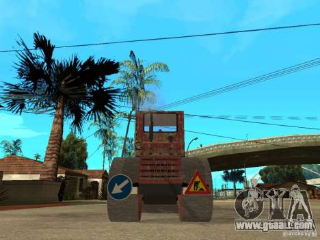 Cilindru Compactor for GTA San Andreas back left view