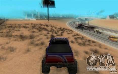 Maximum speed for GTA San Andreas second screenshot