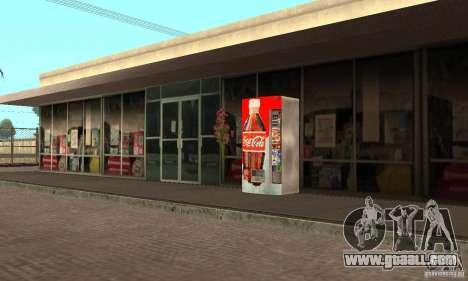 Cola Automat 1 for GTA San Andreas second screenshot