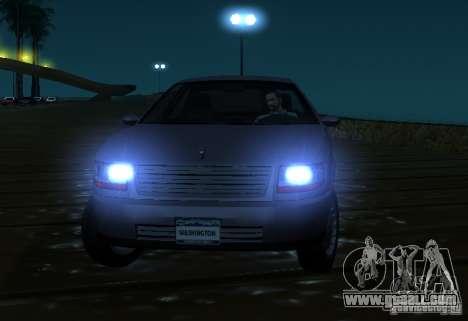 Washington from GTA IV for GTA San Andreas back view