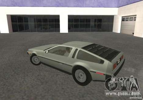 DeLorean DMC-12 for GTA San Andreas right view