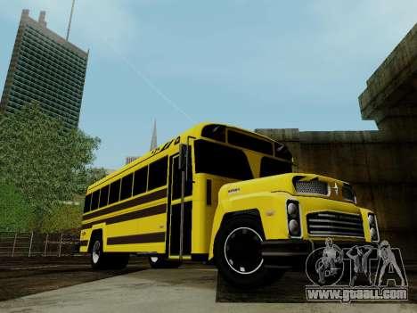 International Harvester B-Series 1959 School Bus for GTA San Andreas