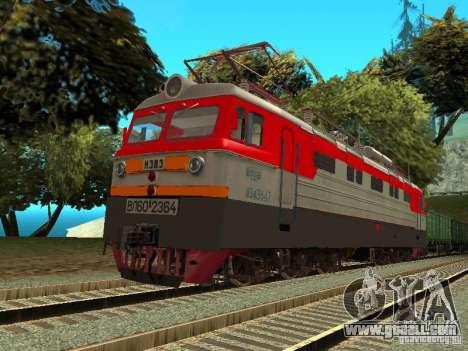Vl60k 2364 RZD for GTA San Andreas