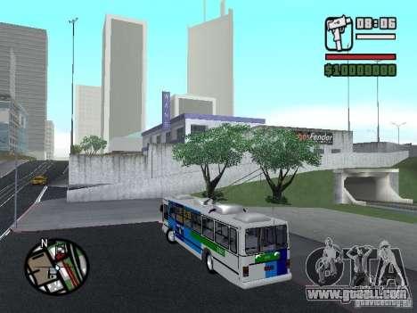 Cobrasma Monobloco Patrol II Trolerbus for GTA San Andreas left view