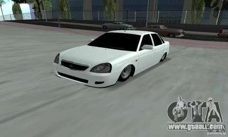 Lada Priora Low for GTA San Andreas