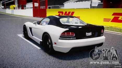 Dodge Viper SRT-10 ACR 2009 v2.0 [EPM] for GTA 4 back left view