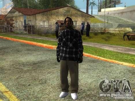 Crips for GTA San Andreas ninth screenshot