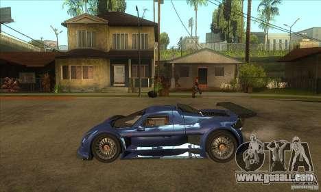 Gumpert Apollo Sport for GTA San Andreas left view