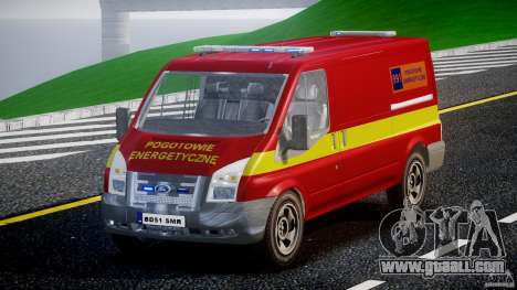 Ford Transit Polski uslugi elektryczne [ELS] for GTA 4