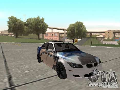 BMW M5 E60 for GTA San Andreas interior