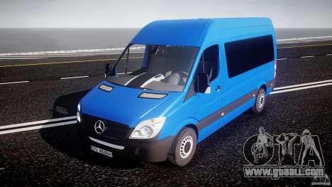 Mercedes-Benz ASM Sprinter Ambulance for GTA 4