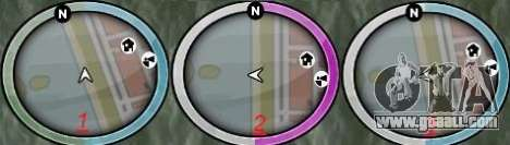 NEW GTA IV HUD 2 for GTA San Andreas second screenshot
