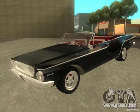 1962 Dodge Dart 440 for GTA San Andreas