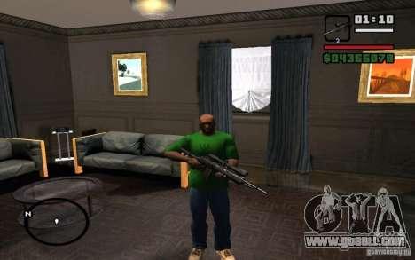 M 14 EBR for GTA San Andreas