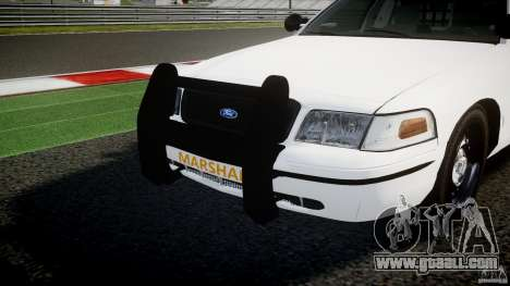 Ford Crown Victoria US Marshal for GTA 4 bottom view