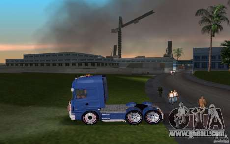 SCANIA 164L 580 V8 for GTA Vice City left view